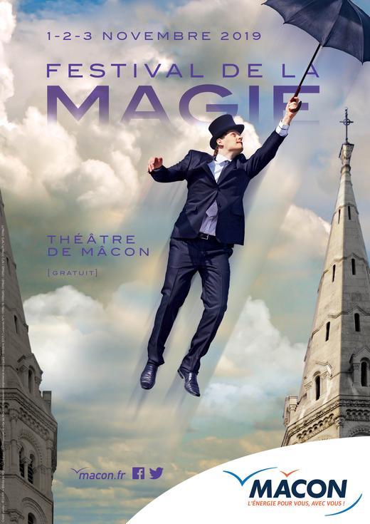 Festival de la magie à Mâcon du 1 au 3 novembre 2019