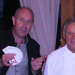 Magicien Georges Blanc à Vonnas
