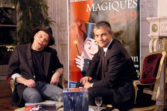 CIFAMM 2009 - Scènes Magiques à Mâcon : Stefan Leyshon et Gaëtan Bloom