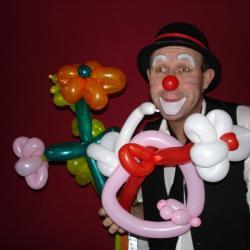 Sculpture sur ballon